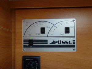 Pössl Roadcruiser Strom & Heizung